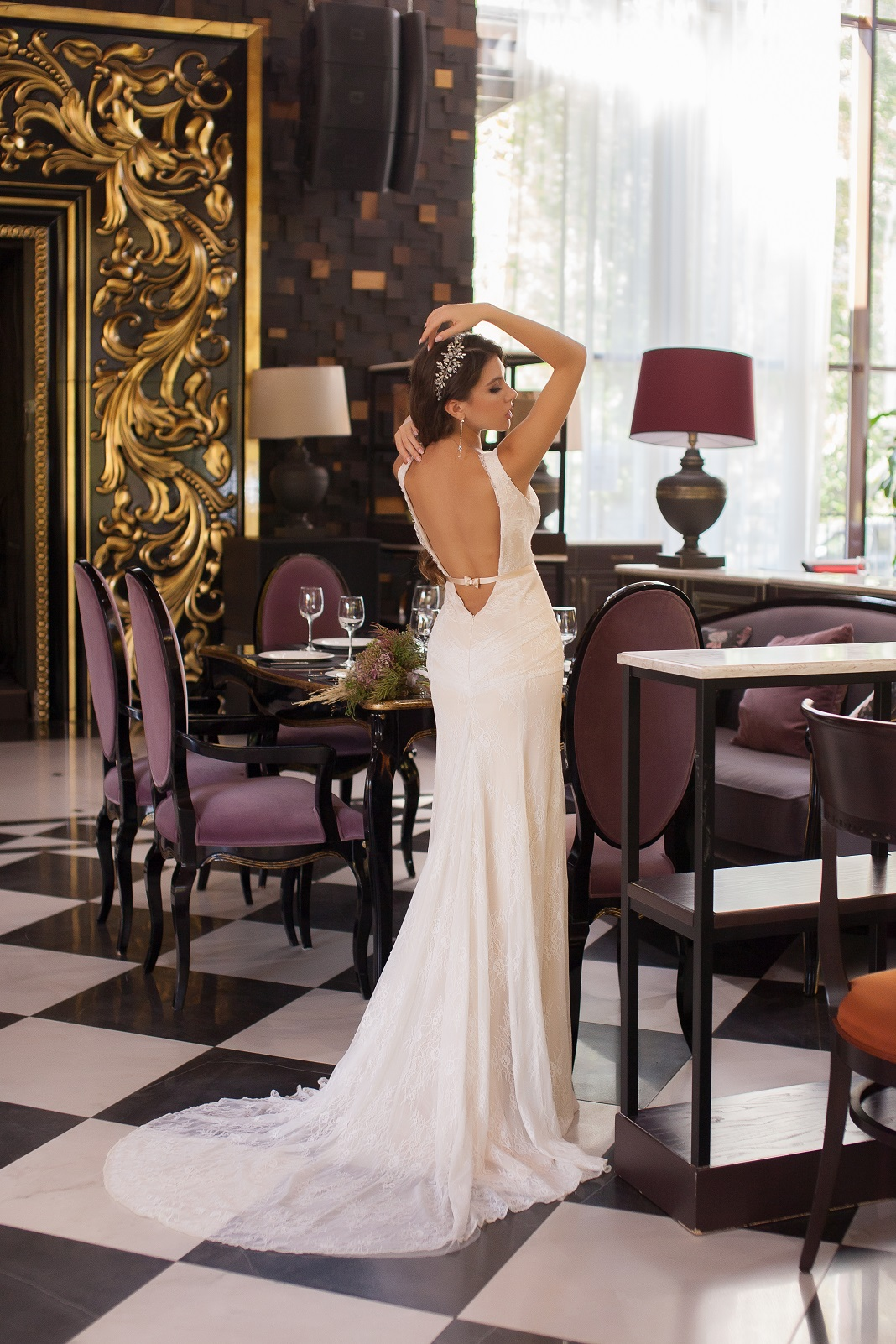 Свадебное платье А-019