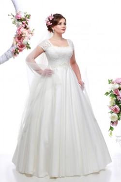 Свадебные платья для пышных форм